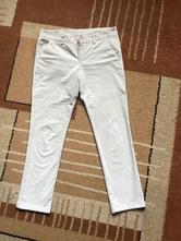 Strečové menčestrové džínsy, benetton,42