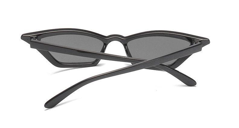72212da52 Zobraz celé podmienky. Módne úzke mačacie slnečné okuliare - čierna ...
