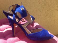 Kralovsky modre sandale, 38