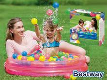 Bestway nafukovací bazén s loptičkami,
