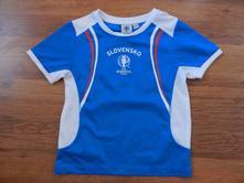 Športové tričko pre chlapcov, lupilu,122