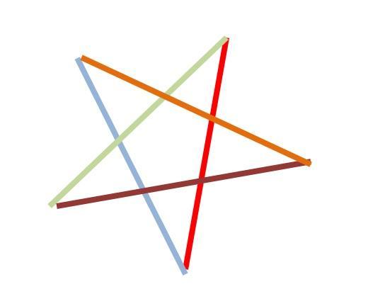 4f3708829 Vianocna hviezda - pletenie z papiera - ako vytvorit 5-cipu hviezdu ...