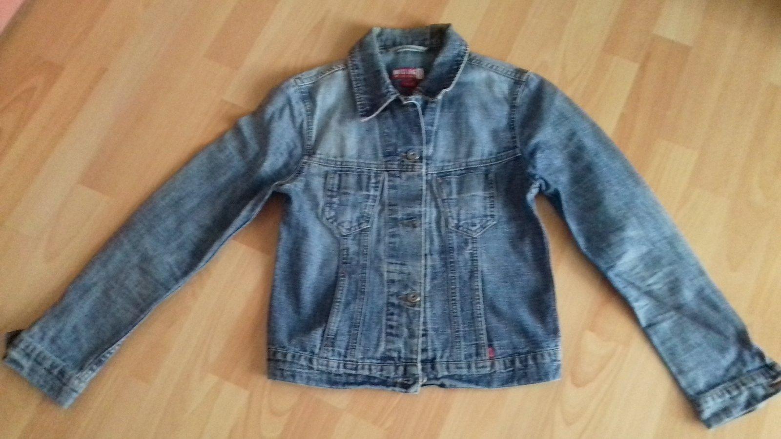 e85e13c722 Dámska modrá rifľová bunda zn.mustang