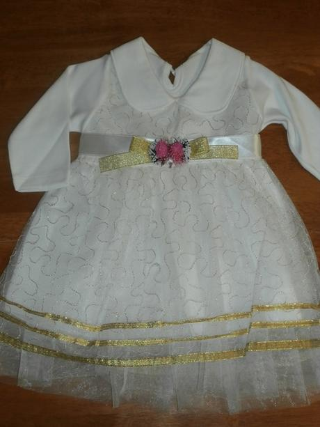 4295fc8edee9 Dievčenské šaty na príležitosť 4 cca 68