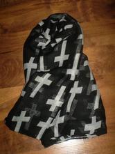 Dámska maxi šatka - módny vzor, 36 - xxl