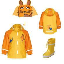 Do dažďa - set myška žltý (ps012), playshoes,74 - 140
