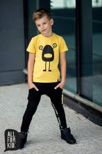 Chlapčenské tričko s krátkym rukávom mm 362 yellow, 92 - 146