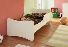 Detská posteľ paula biela 160x80, 80,160