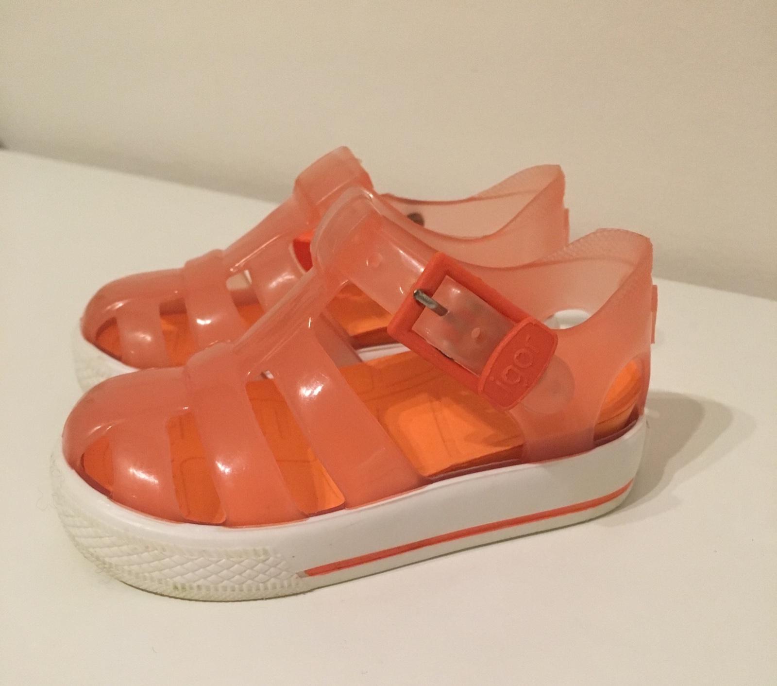 1e76c544b959 Gumové sandále igor veľkosť 19