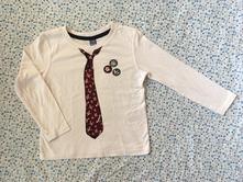 Tričko s motívom kravaty, dopodopo,104