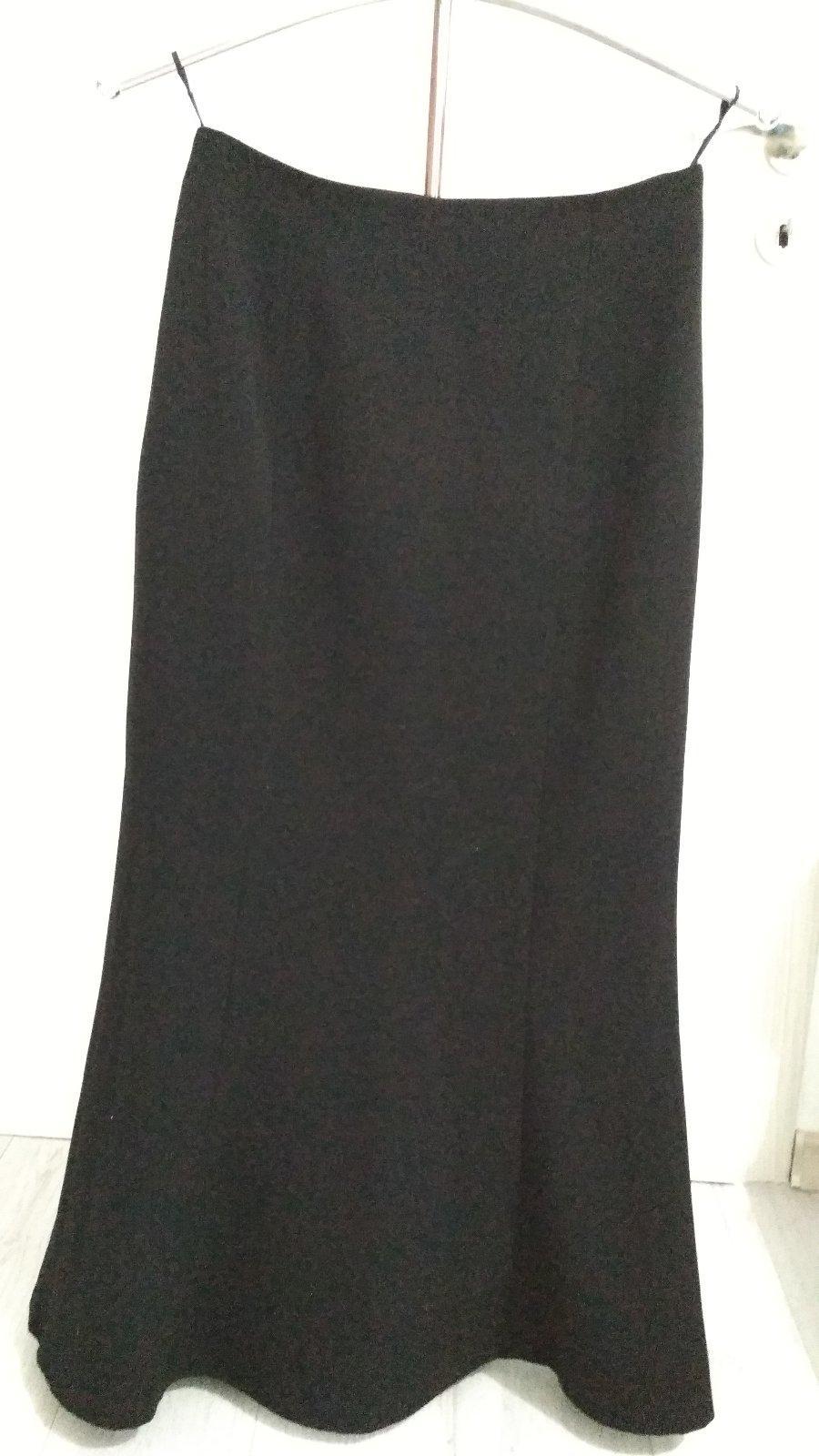 e15029a9fcb0 Dámska dlhá sukňa čierna 38