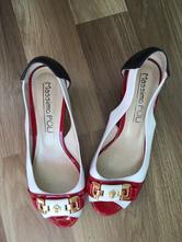 8013a0154f54 Kožené sandálky so zlatou prackou massimo poli