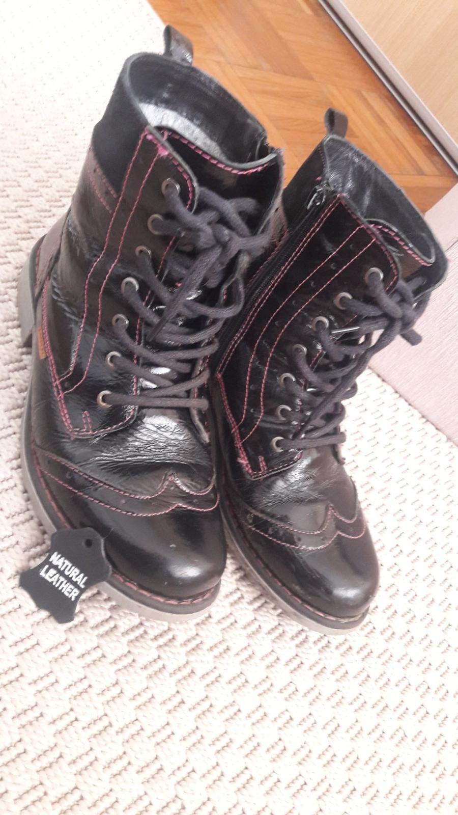 Zimné kožené topánky lasocki (ccc) 01cf0ef57c3