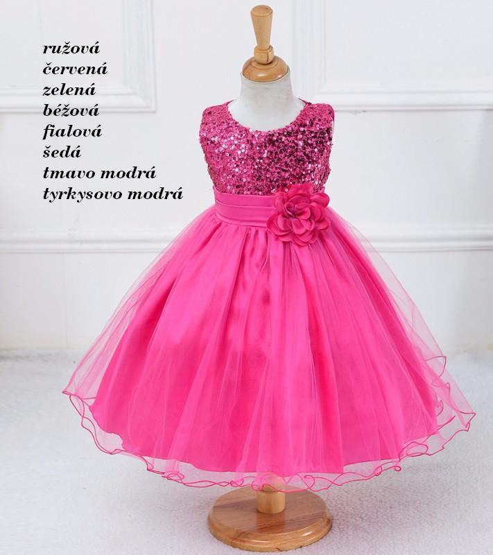 bfb05fa30 Dievčenské spoločenské šaty (2-9r.) magic, 98 - 158 - 20 € od predávajúcej  obelixsk   Detský bazár   ModryKonik.sk