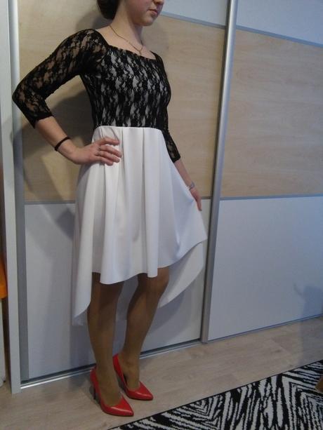 Čiernobiele šaty 4e618a69c78