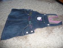 Riflové šatky, h&m,86