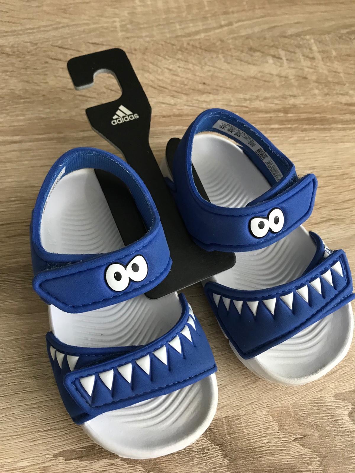 decccf3b00d2 27 inzerátov • 33 hodnotení. Chlapčenské sandále adidas ...