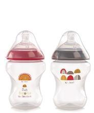 Jané - sada antikoikových dojčenských fliaš 240ml,