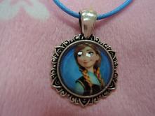 Dievčenský náhrdelník anna - ľadové kráľovstvo ,
