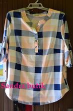 Dámska kockovaná košeľa, 48 - xxxl
