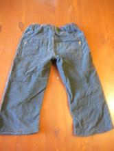 Chlapčenské menčestrové  nohavice, lupilu,86