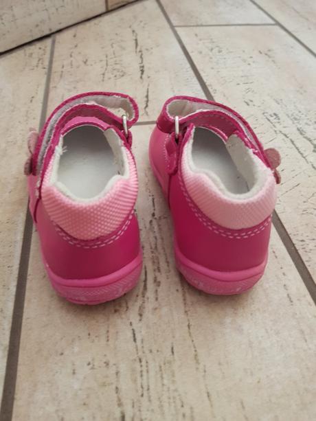 7f000f6a90 Dievčenské kožené topánky mini b