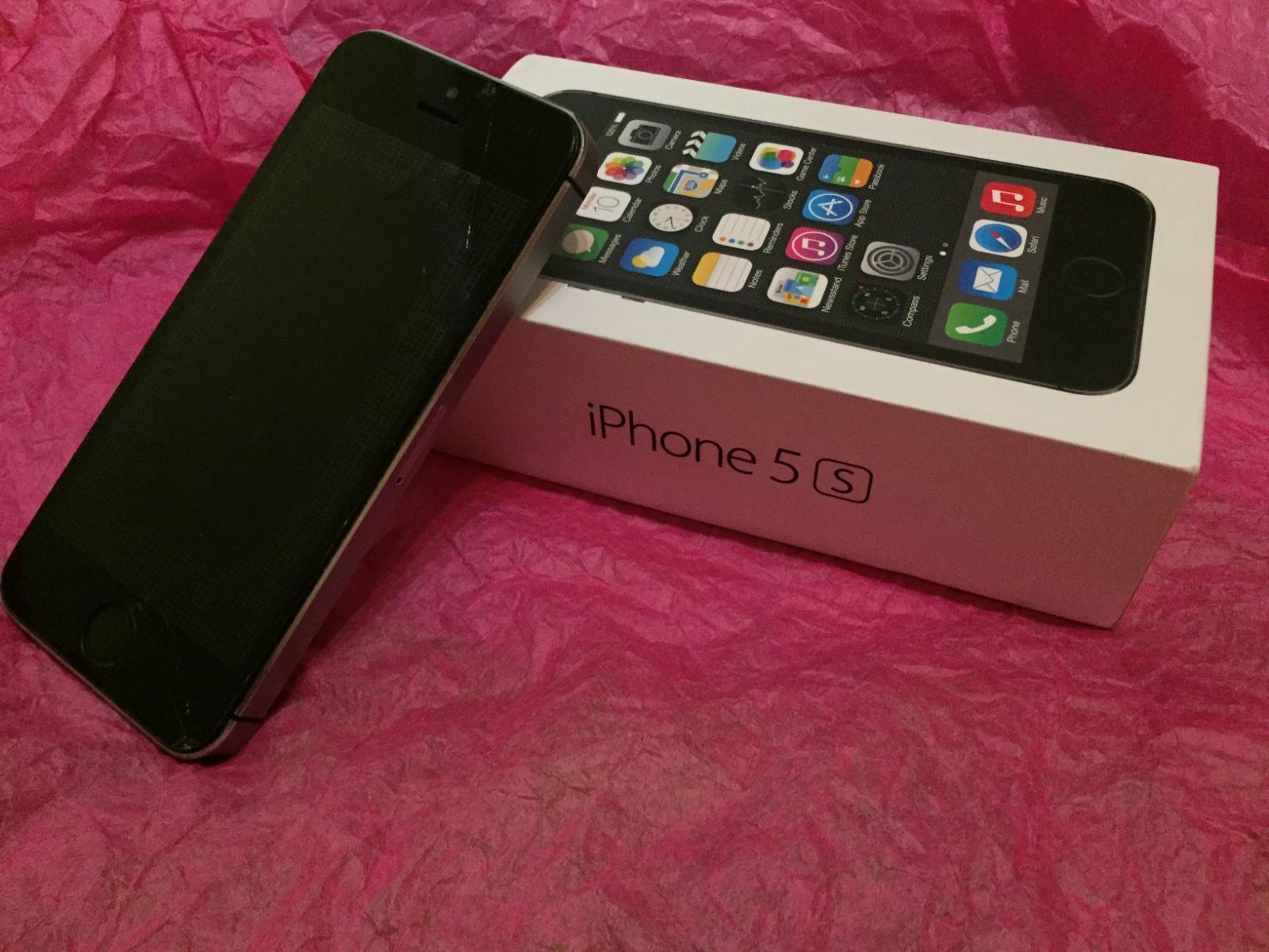 Iphone 5s space grey 16gb apple 25 € od predávajºcej habababa Detsk½ bazár