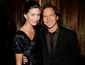 Eddie Vedder and Jill