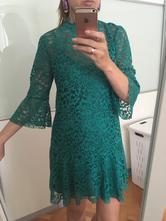 d2787575eda7 Čipkované elegantné šaty zara