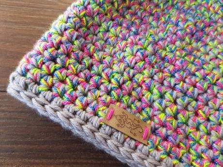 c869db239 Hackovana zimná merino ciapka siva s farebnou, 34 - xs - 18 € od ...