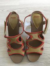 Baťa letné sandálky na podpätku veľ.37, baťa,37
