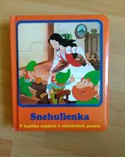 Snehulienka - príbeh + puzzle,