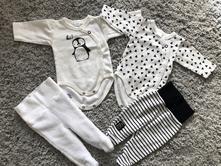 Novorodenecky set, h&m,50