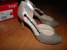 Celokožené hogl topánky 3 a 1/2, rieker,36