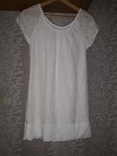 Dievčenské tričko / minišaty krajkové veľ. 164 s, h&m,164