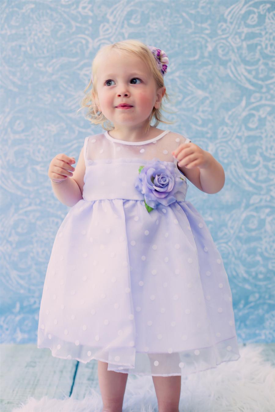 3c01a9f6abec Detské šaty timea fialové