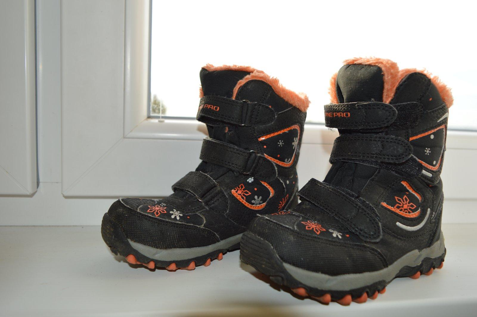 0b6ad3ec2d Detské zimné topánky alpine pro
