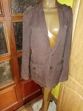 Dámske bavlnené pásikavé sako, s.oliver,44