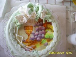 a na tejto torte sme si pochutnávali...mnam