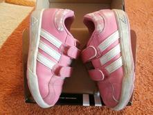 Adidas tenisky č.27, so zapínaním na suchý zips, adidas,27