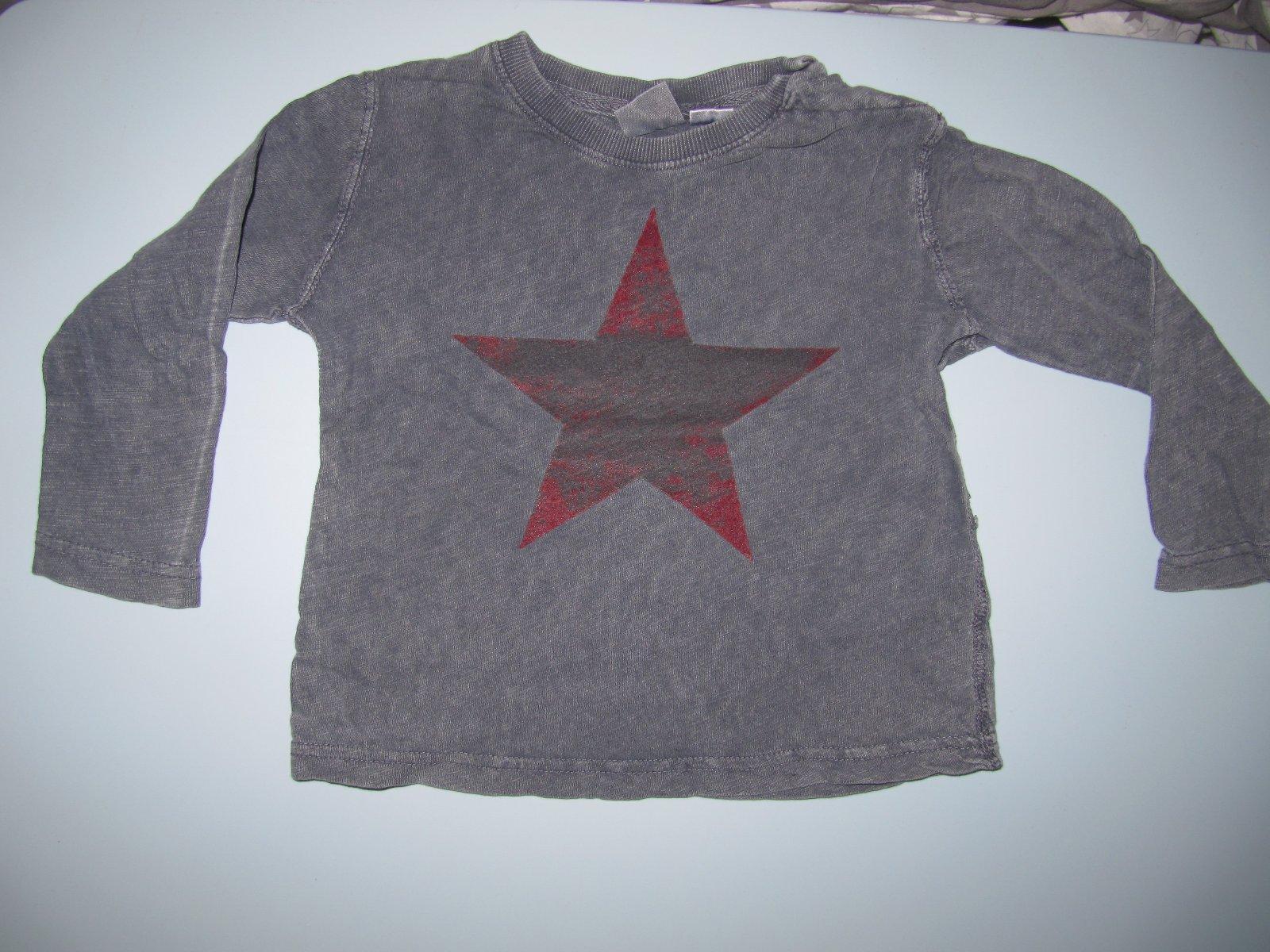 2c1053fb410b Tričko s dlhým rukávom zara