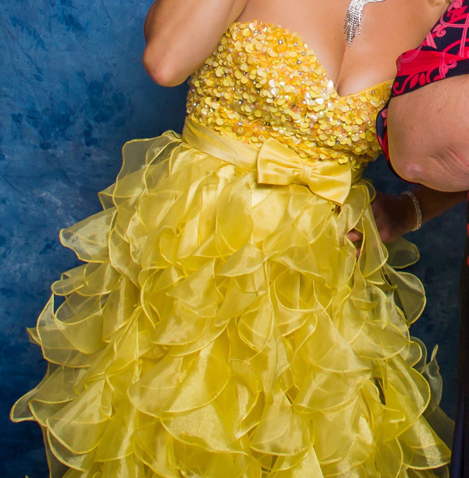 Žlté spoločenské šaty 5114135c02f