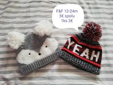 Zimné čiapočky, f&f,74