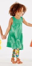 104 letné, volánové šaty, zelené, next,104