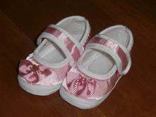 Ružové saténové papučky    , 17