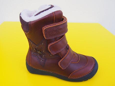 7decf44256 Detské zimné topánky d.d.step 023 - 803 chocolate