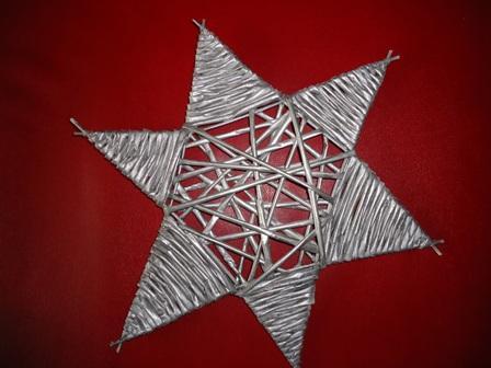 e83bc7a6b Vianocna hviezda - pletenie z papiera - Album používateľky levik7