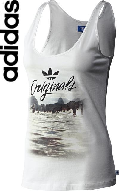 b65db4c6c971 Skvelé dámske tielko- top adidas originals