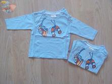 Tričko s dlhým rukávom - cena spolu, 74