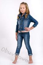 Dievčenský rifľový kabát mm 262 jeans, 86 / 92 / 98 / 104 / 110